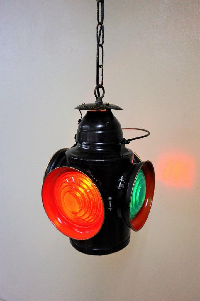 ヴィンテージ Scott社製 シグナルランプ