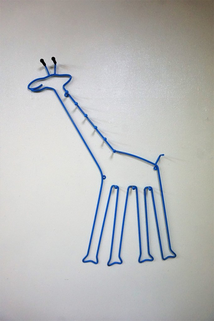 1980's ヴィンテージ ジラフデザイン ウォールハンガー