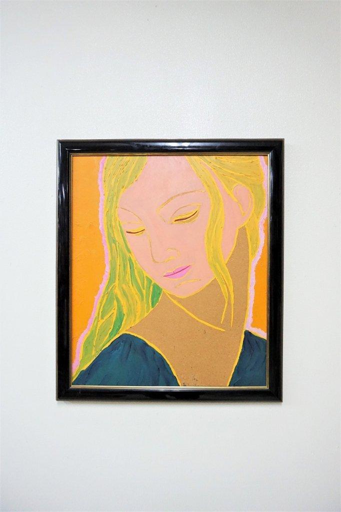 ヴィンテージ ペイントアート ウォールデコ