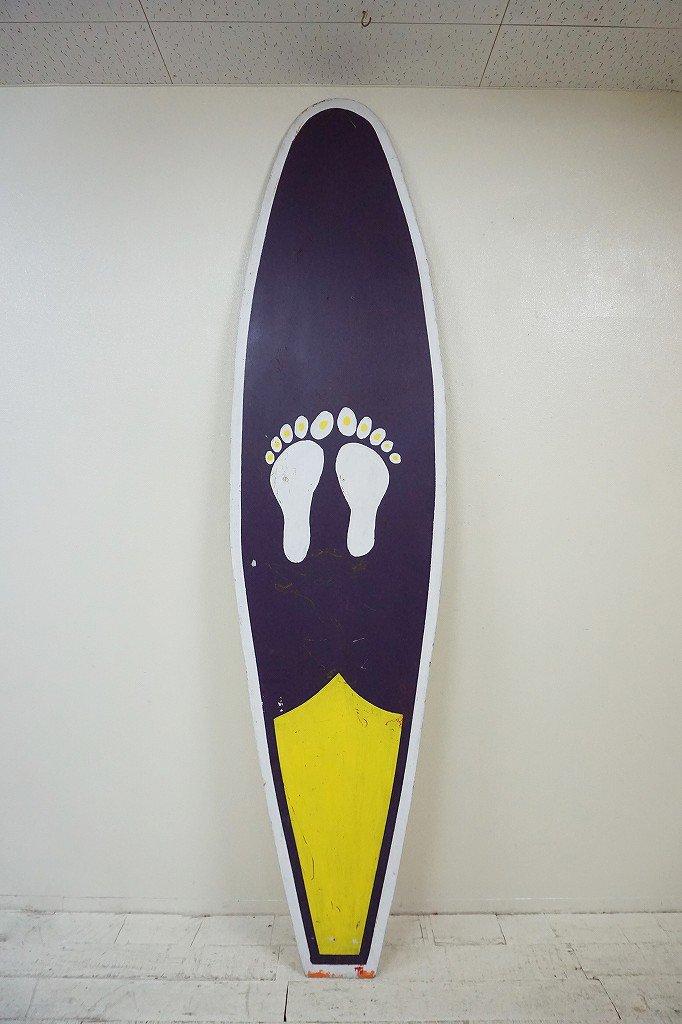 ヴィンテージ ペイント サーフボード/看板