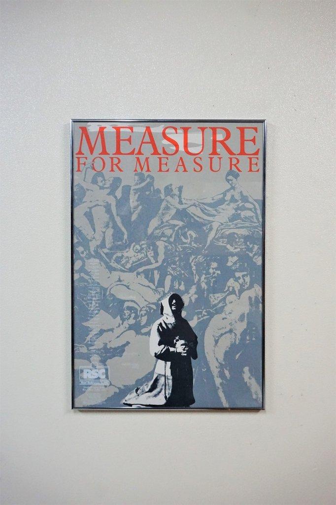 ヴィンテージ Measure for Measure 額入りポスター