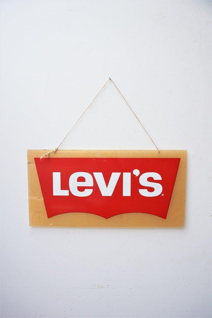 ヴィンテージ Levis アドバタイジングサイン / 看板