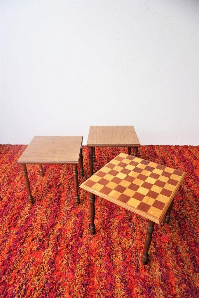 1960-70's ヴィンテージ サイドテーブルset