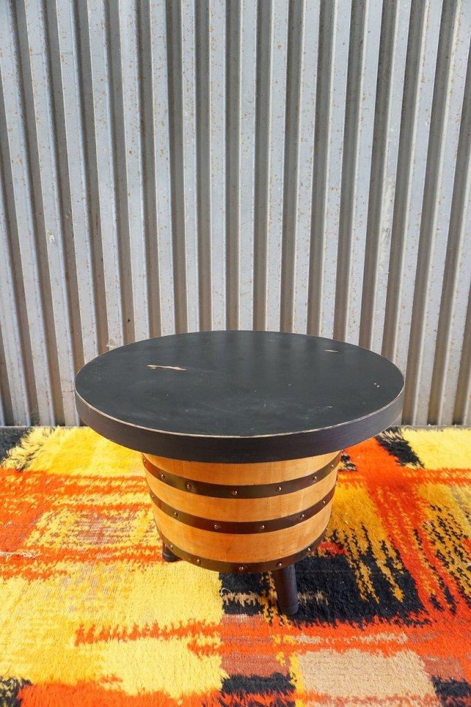 1960-70's ヴィンテージ バレル サイドテーブル