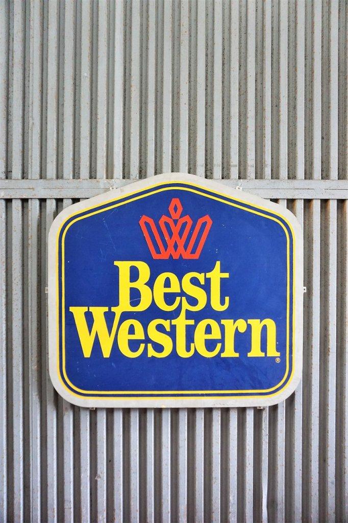 ヴィンテージ Best Western サイン/看板