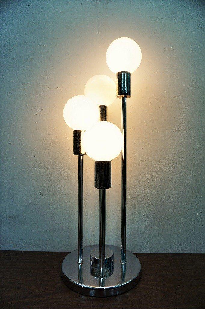1960-70's ヴィンテージ クローム テーブルランプ