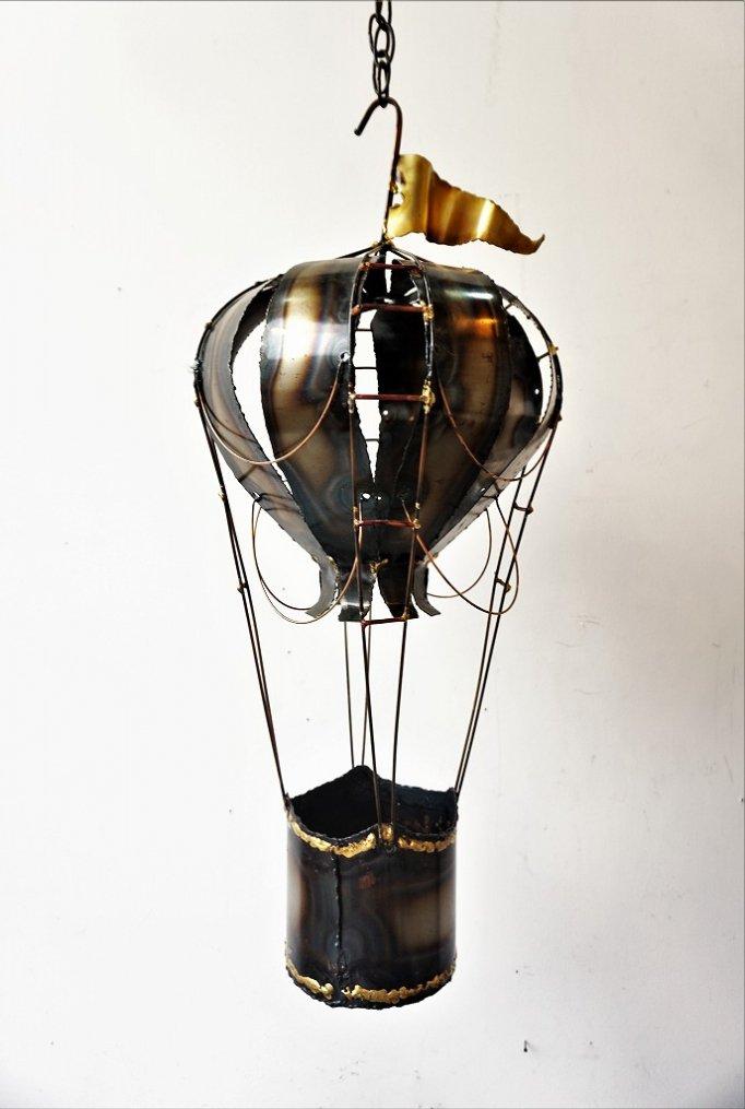 1960-70's メタルアート ハンギング スカルプチャー