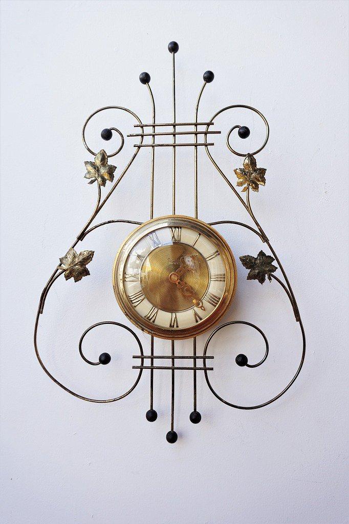 1960's United Clock Corp社製 ヴィンテージ ウォール クロック