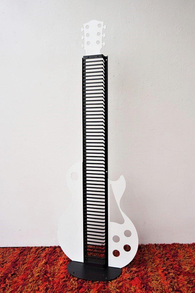 USA製 ギターモチーフ ディスク ラック