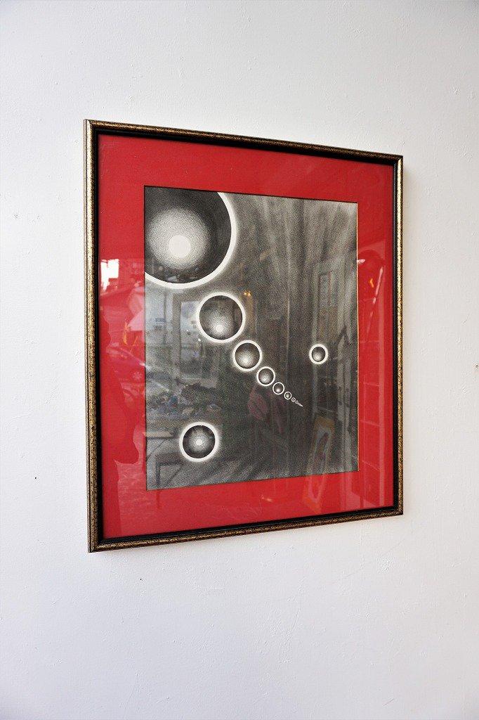 1960-70's ヴィンテージ モダンアート ウォールデコ