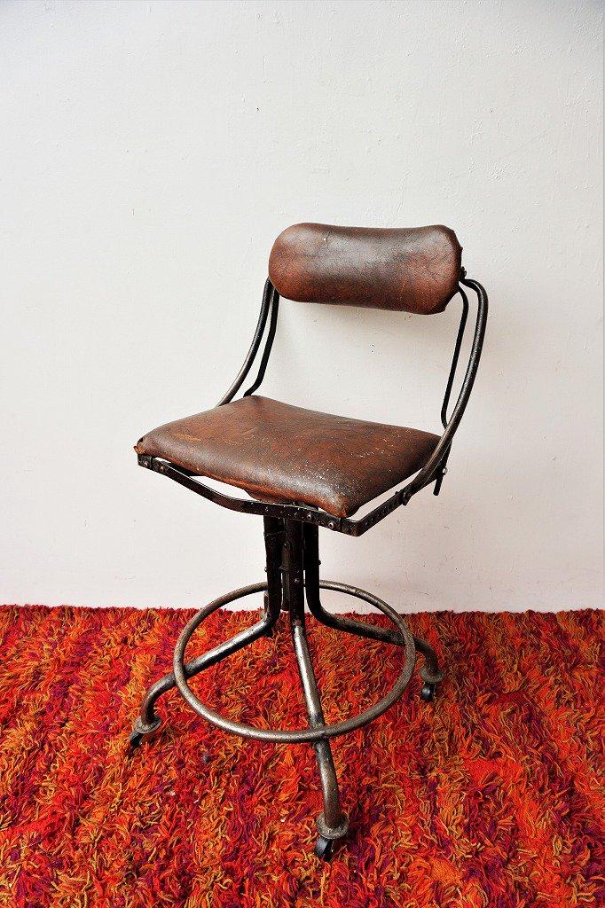 1920-30's Domore Chair Company社製 スウィベル デスクチェア