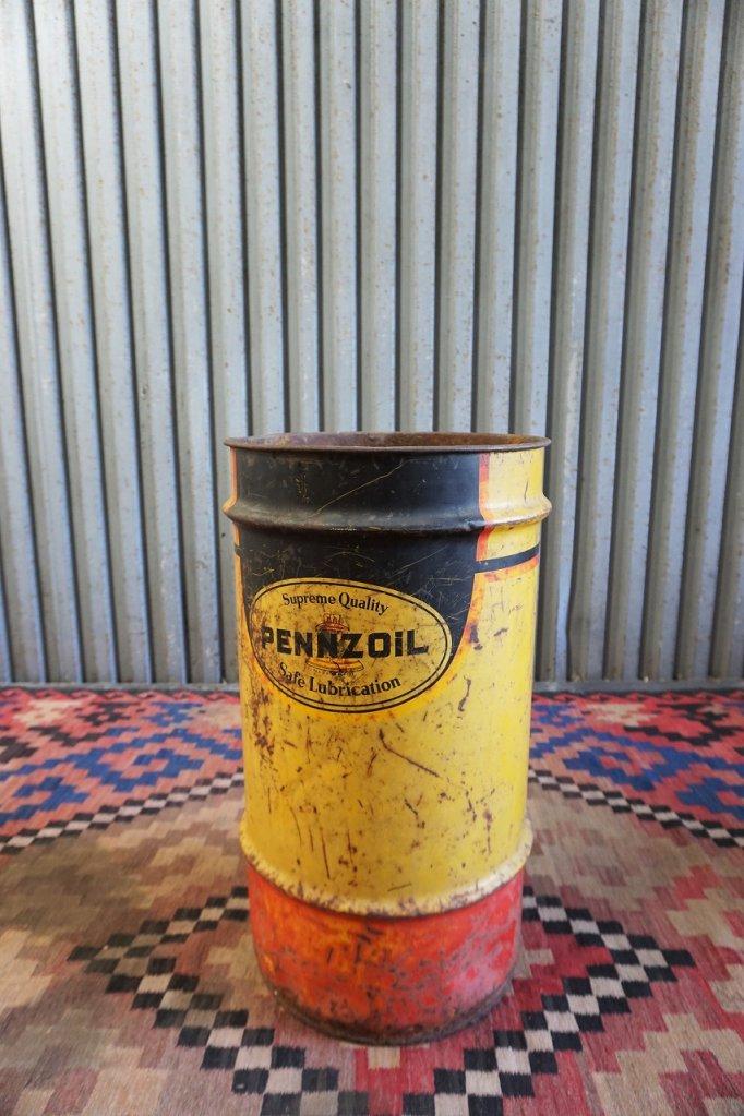 ヴィンテージ PENNZOIL オイル缶