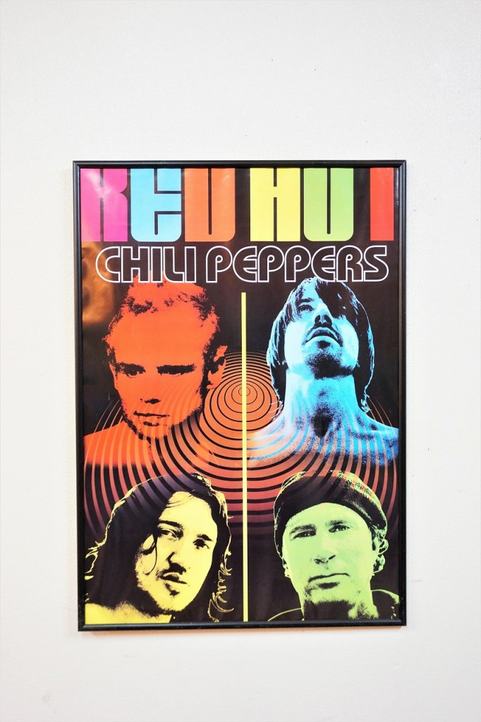 Red Hot Chili Peppers 額入りポスター