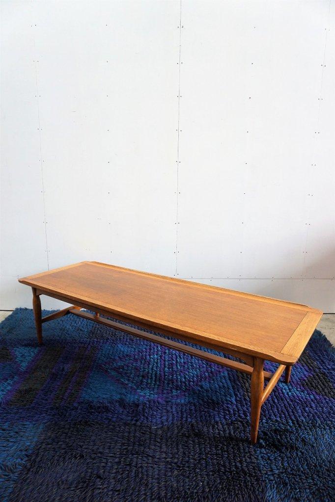 1950'-60s  ヴィンテージ ウッド ローテーブル