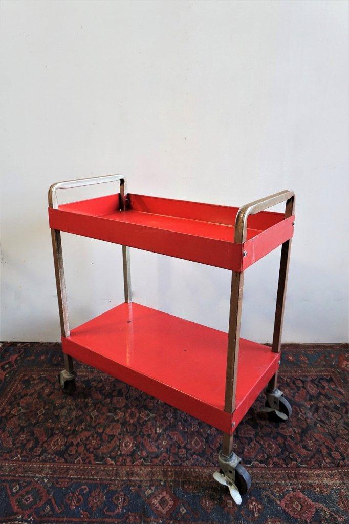 1950-60's ヴィンテージ スチール ワゴン