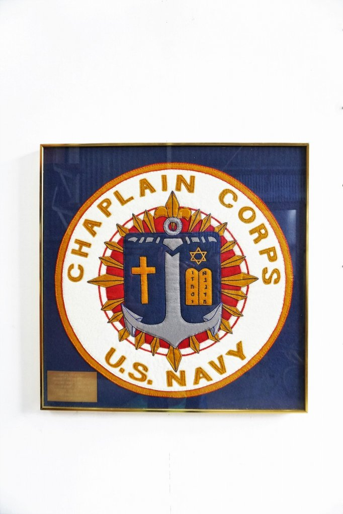 1960's Chaplain Corps US NAVY  ウォールデコ