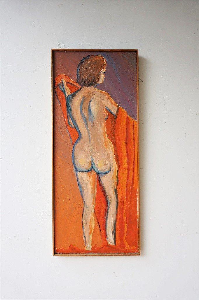 1950's ヴィンテージ ペイントアート ウォールデコ