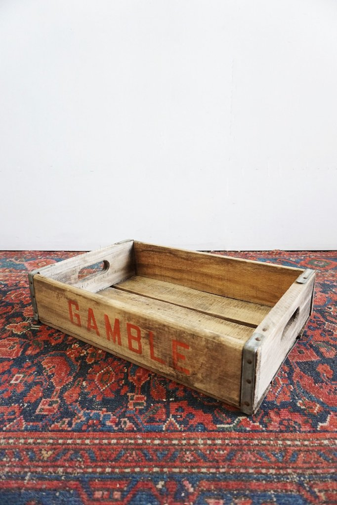 ヴィンテージ GAMBLE 木箱