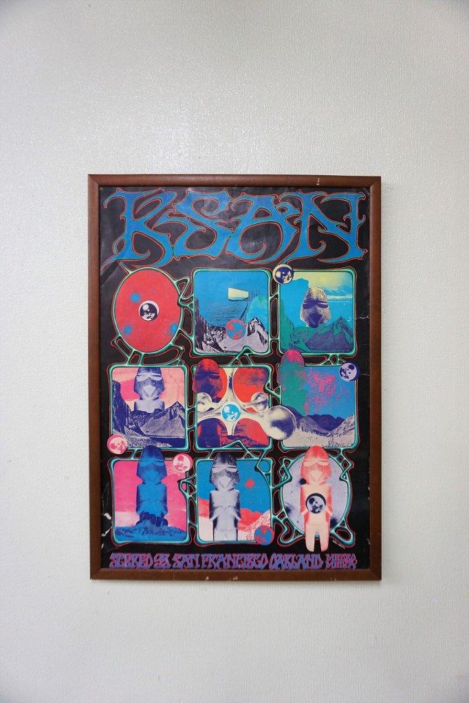 1960's K SAN ヴィンテージ 額入り ポスター