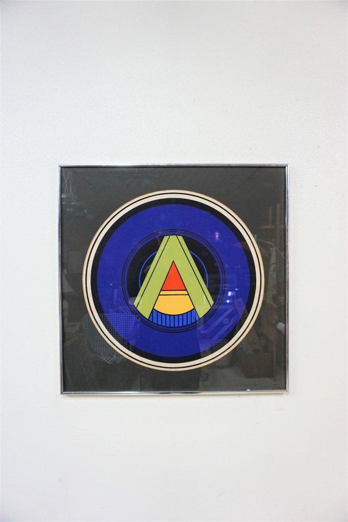 1970's ヴィンテージ グラフィックアート ウォールデコ