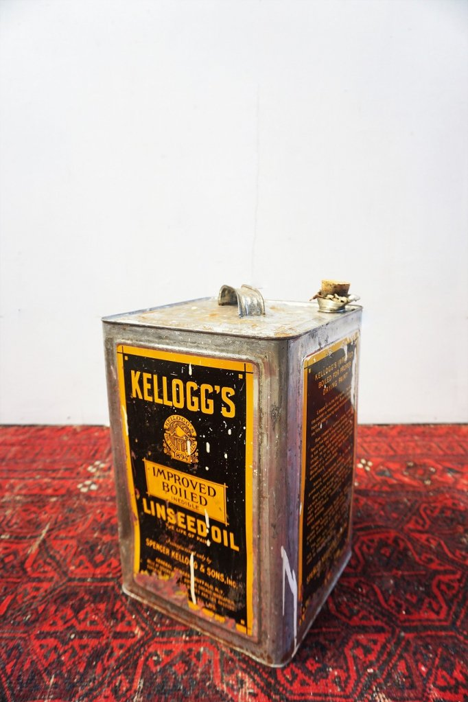 ヴィンテージ KELLOGG'S ドラム缶