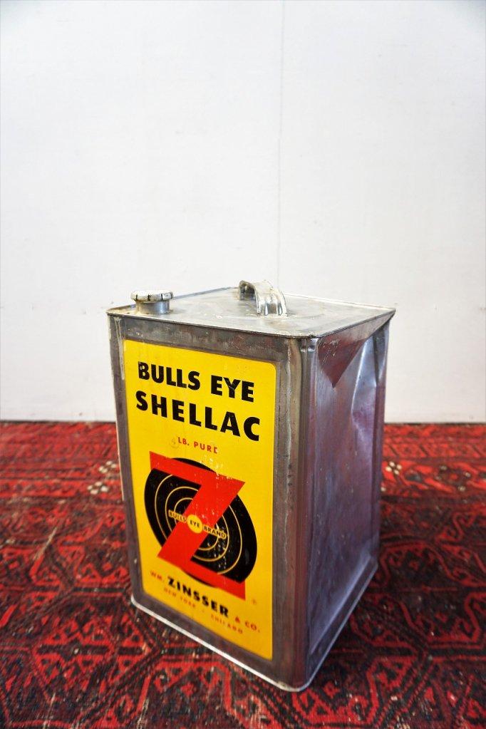ヴィンテージ BULLS EYE SHELLAC ドラム缶
