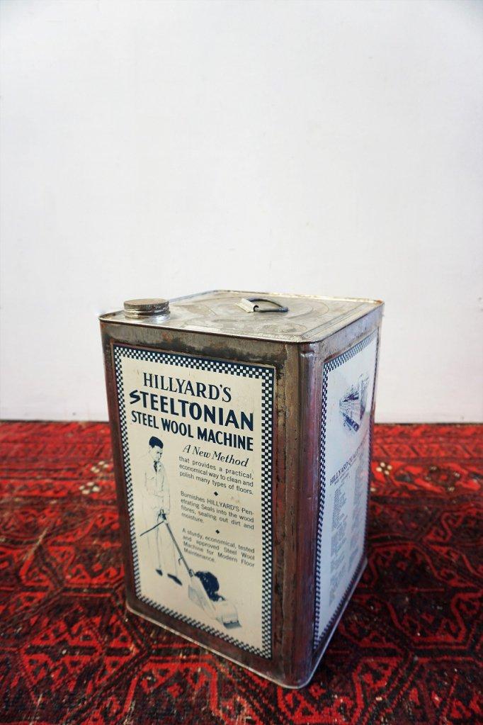 ヴィンテージ Hillyard's ドラム缶
