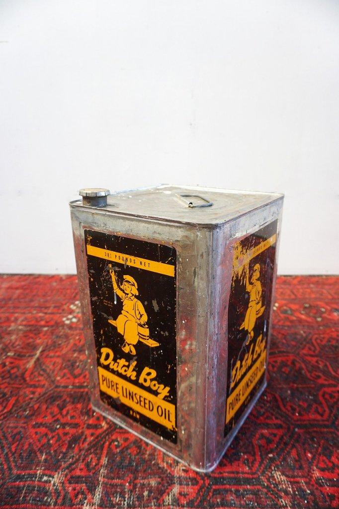 ヴィンテージ Dutch Boy オイル缶�