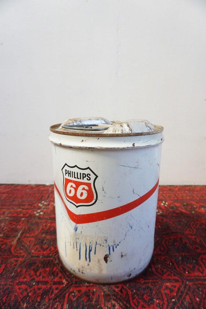 ヴィンテージ Phillips 66 オイル缶