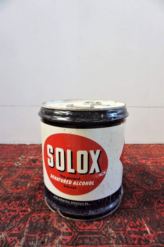 ヴィンテージ SOLOX オイル缶