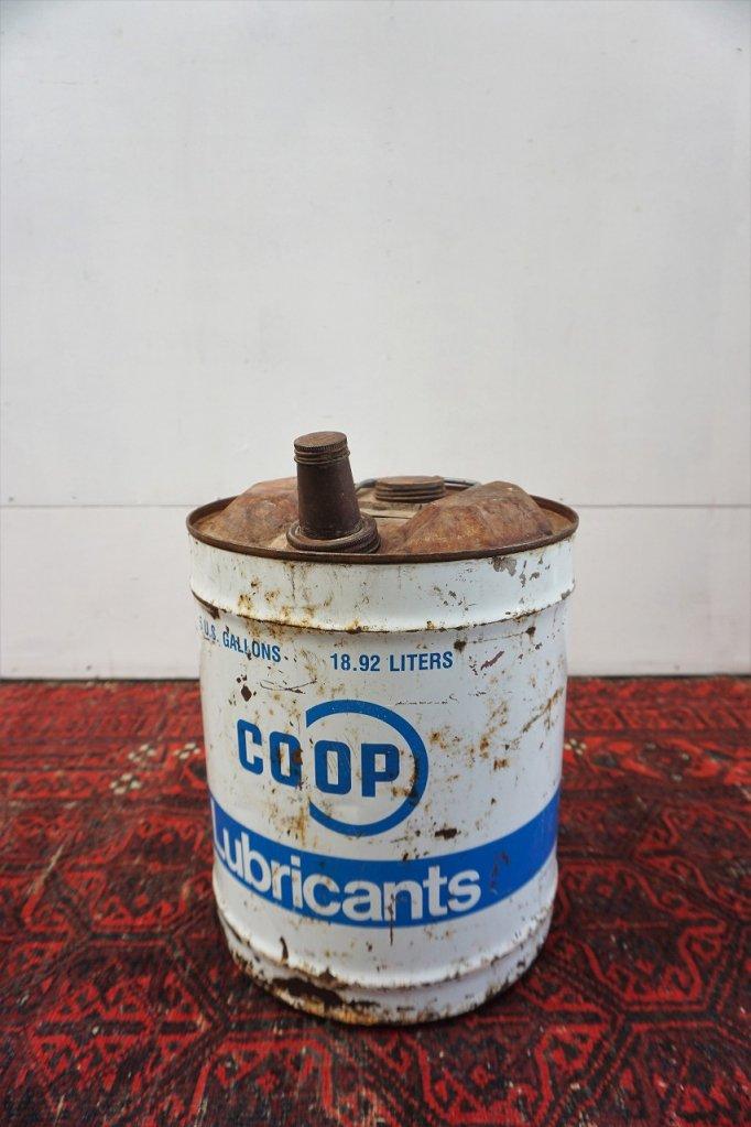ヴィンテージ COOP オイル缶