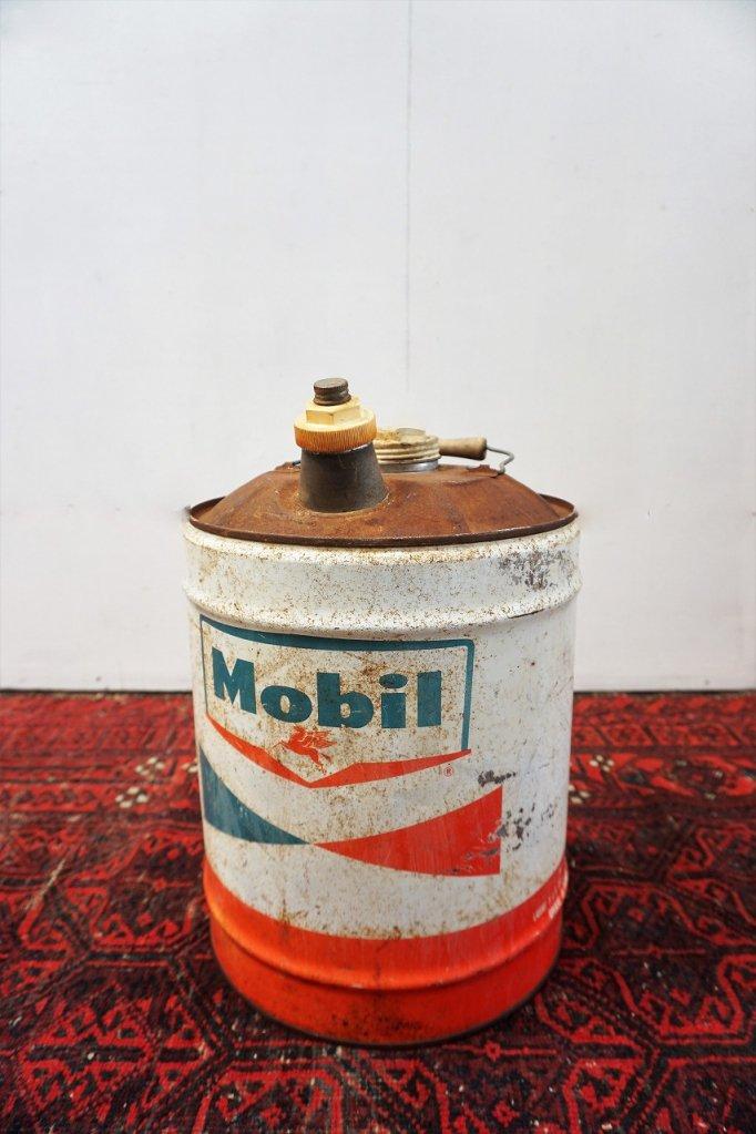 ヴィンテージ MOBIL ドラム缶