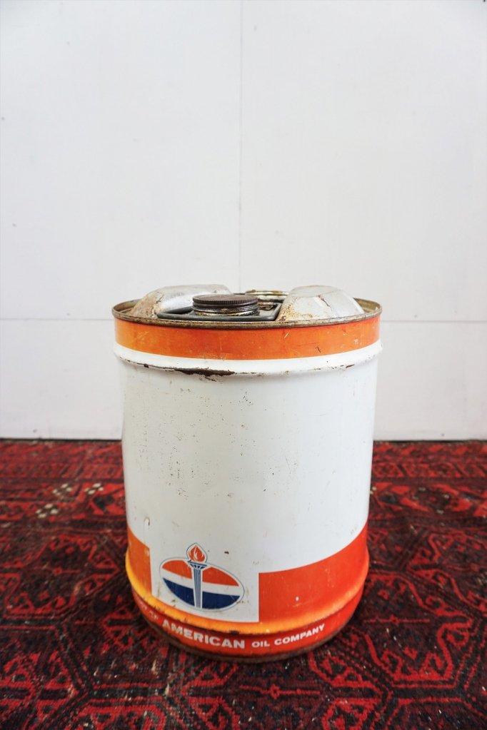 ヴィンテージ AMERICAN OIL オイル缶
