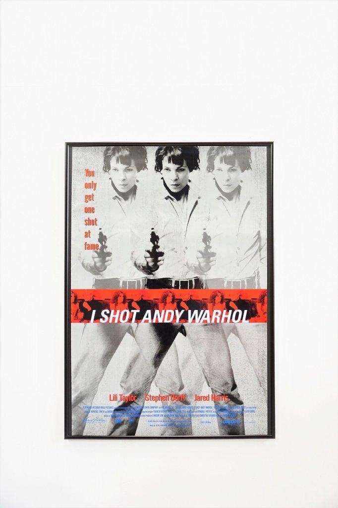 1990's I Shot Andy Warhol ヴィンテージ 額入り ムービーポスター