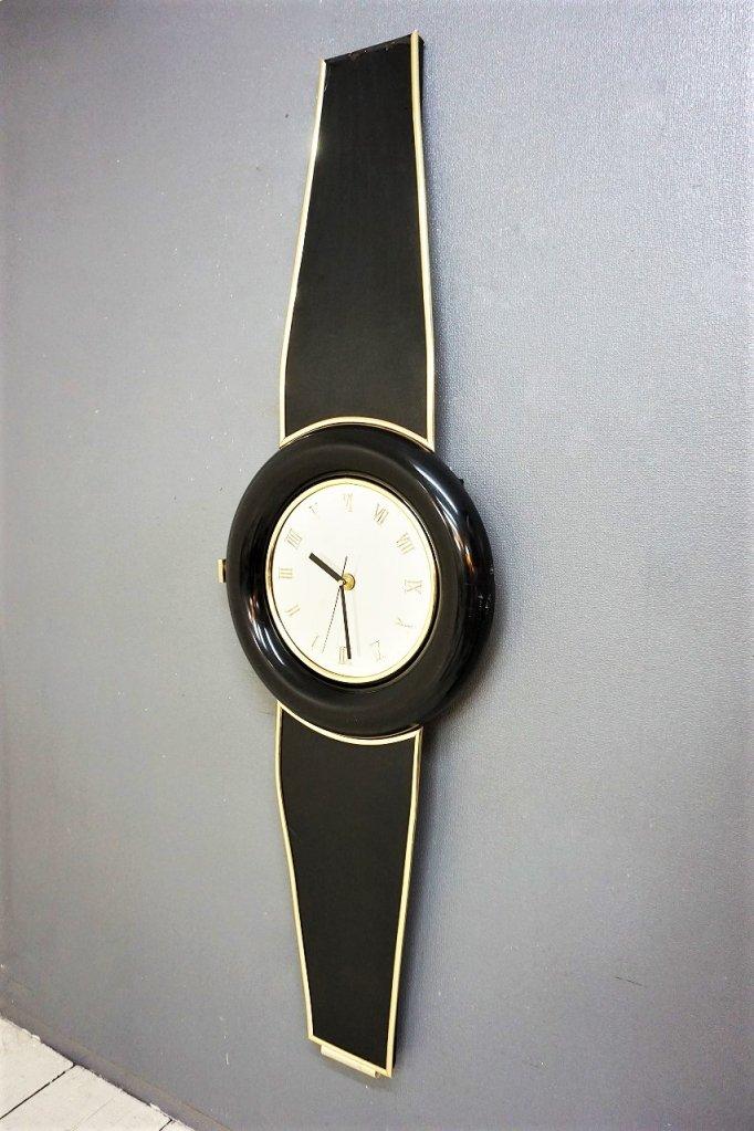 1980's ヴィンテージ モダン ウォールクロック