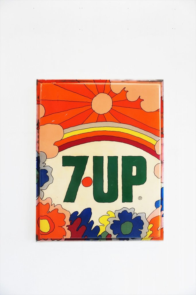 1970's ヴィンテージ 7up サイン/看板