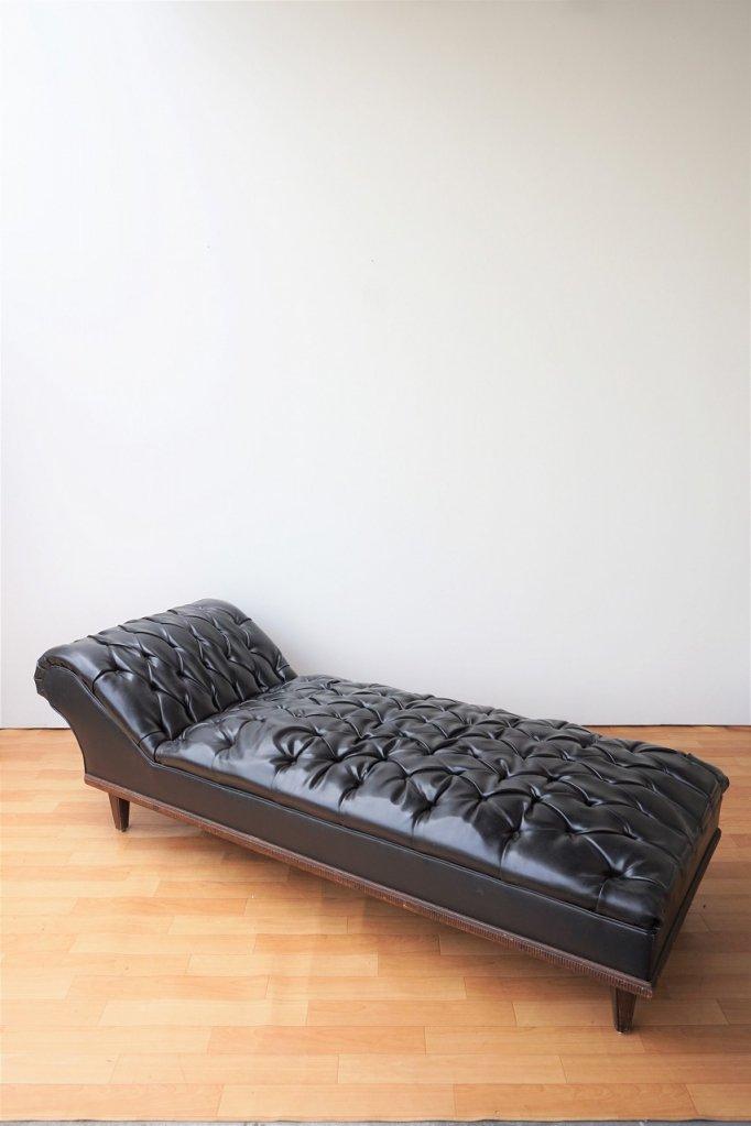 1900-20's ヴィンテージ シェーズロングソファ/ベッド