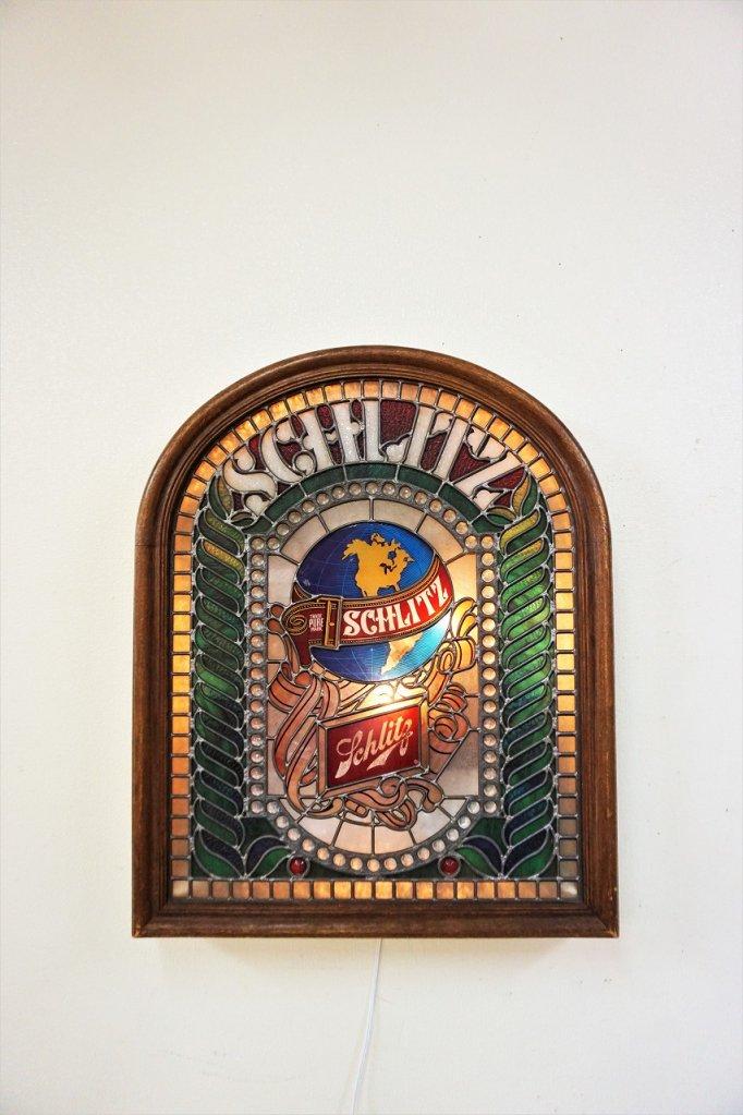 ヴィンテージ Schlitz Brewing社製 アドバタイジング ライトサイン
