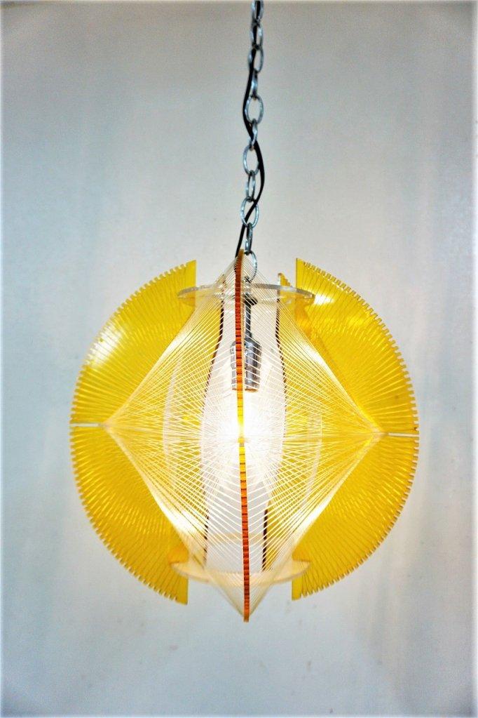 1960-70's ヴィンテージ ストリングス ペンダント ランプ
