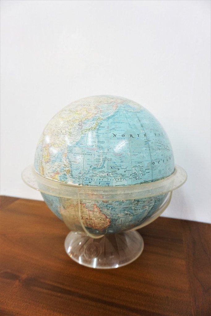 ヴィンテージ National Geographic 社製 グローブ/地球儀