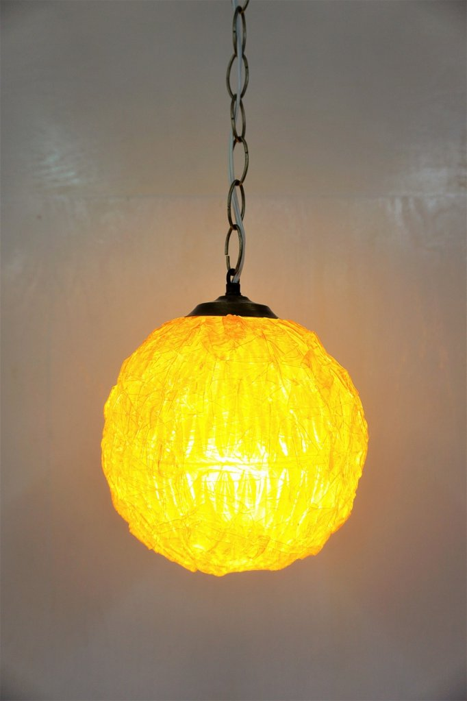 1960-70's ヴィンテージ スパゲティ ペンダント ランプ