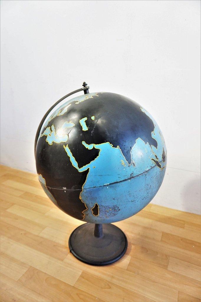 1940-50's ヴィンテージ WW2 ミリタリー グローブ / 地球儀
