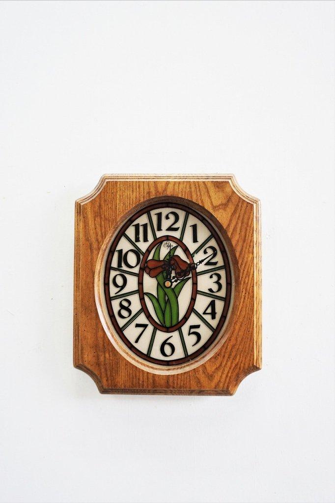 1960-70's ヴィンテージ ウッドクロック