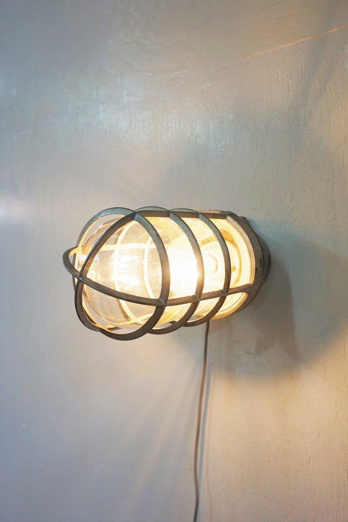 ヴィンテージ マリンブラケットランプ