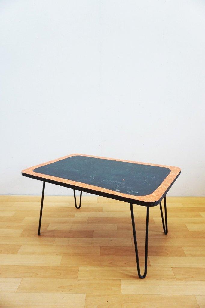 1950's ヴィンテージ ヘアピンレッグ ローテーブル