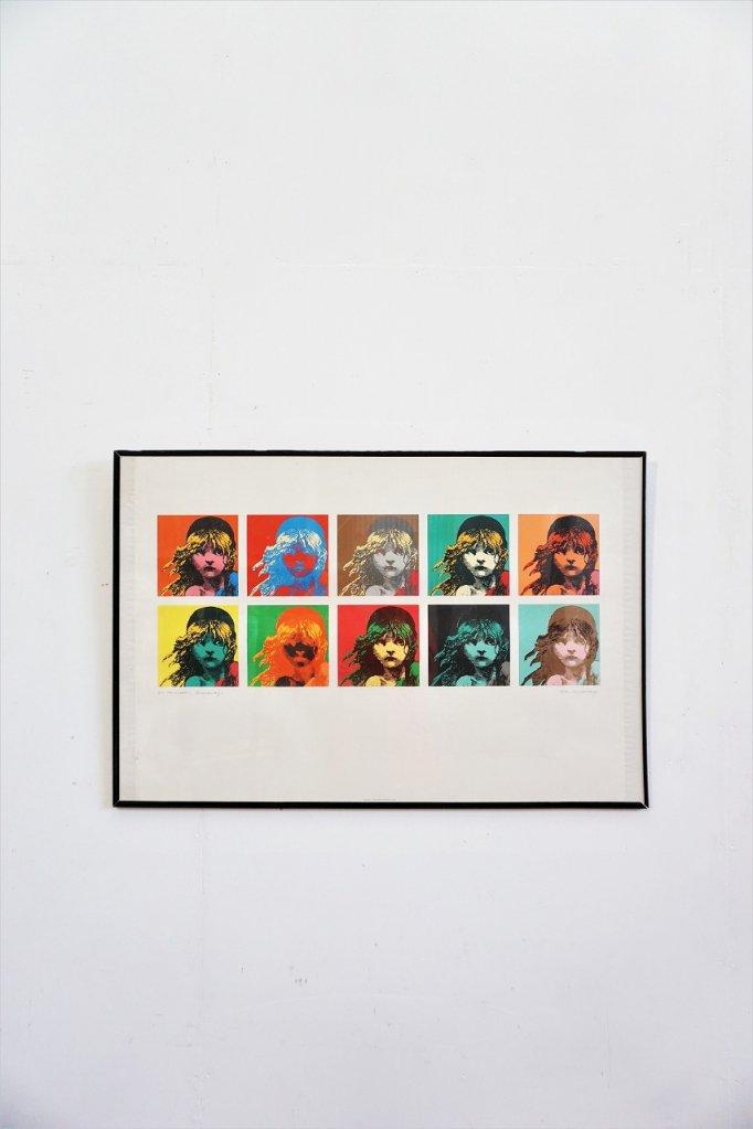 1980's Les Miserables 額入りポスター