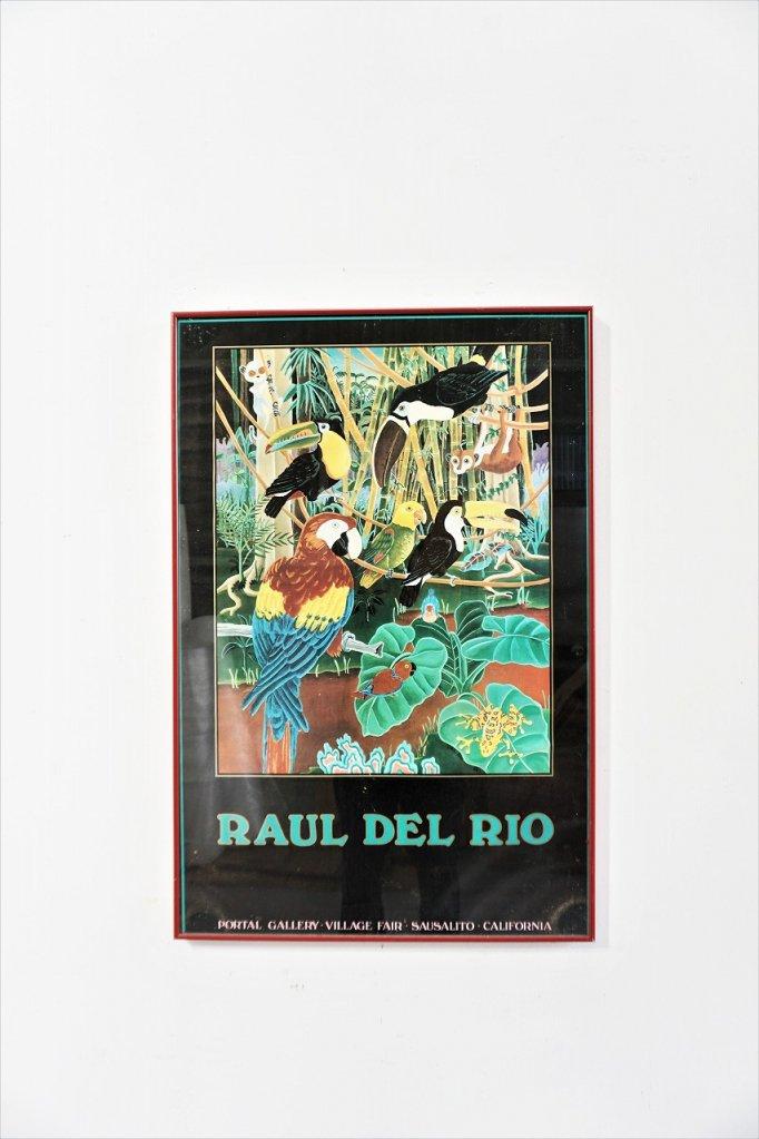 Raul Del Rio 額入りポスター