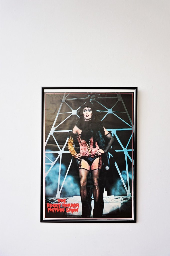1970's Rocky Horror Show ヴィンテージ 額入り ポスター