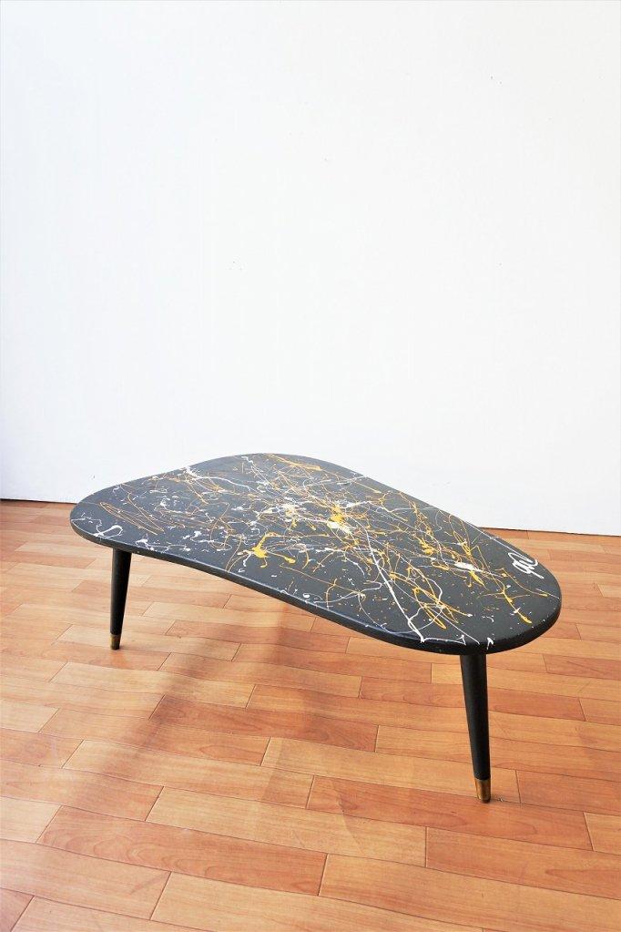 1950's ヴィンテージ ペイント ローテーブル