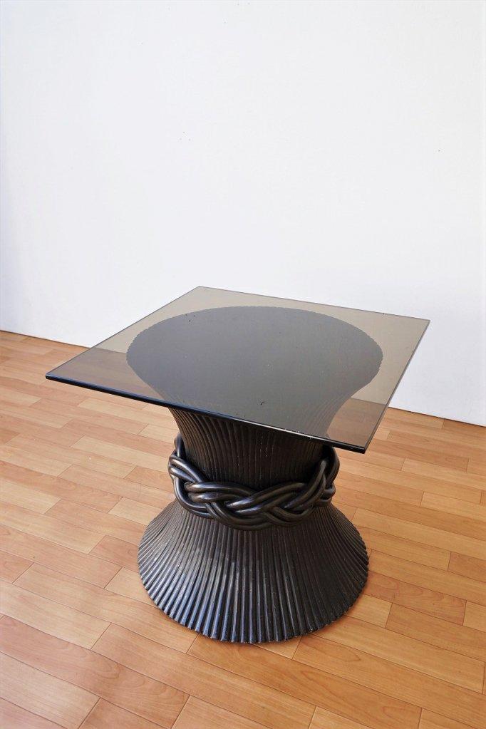1960-70's ヴィンテージ McGuireデザイン サイドテーブル